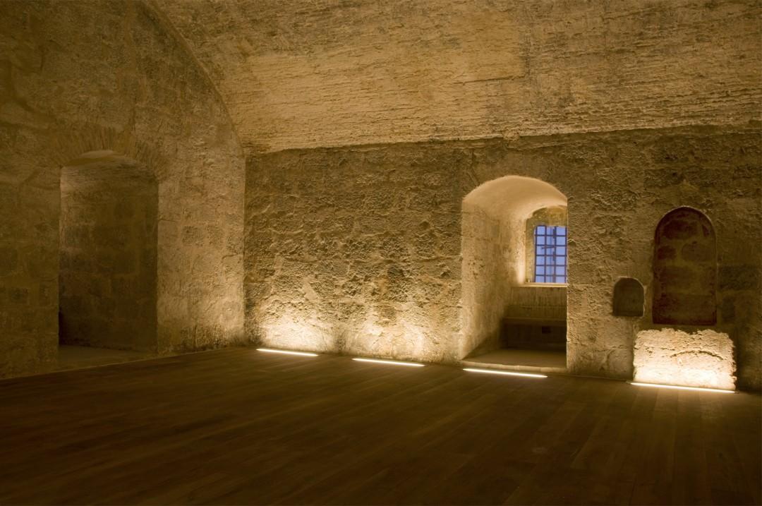 Restauración de la torre del homenaje de Requena 2011