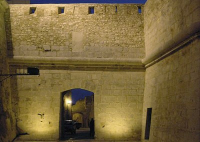 Restauración del baluarte de Santa María de Peñíscola 2001