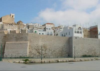Batería de Santa Ana y Muralla de la Fuente  Peñíscola 1998