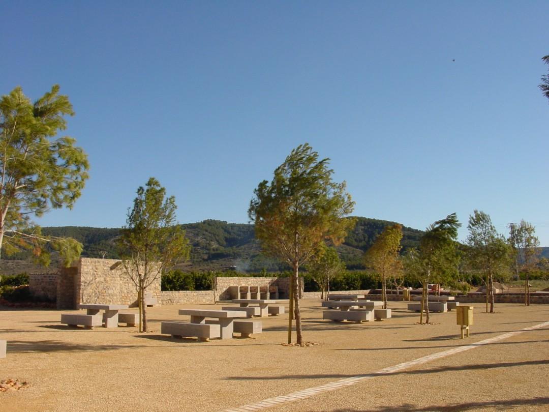 Área de esparcimiento en Alcalá de Xivert 2004