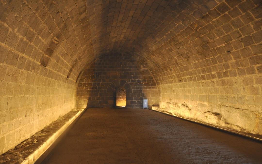 Restauración del castillo de Peñíscola 2015