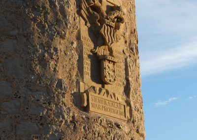 Rehabilitacion de la torre Badum. Sierra de Irta (Castellón) 2014